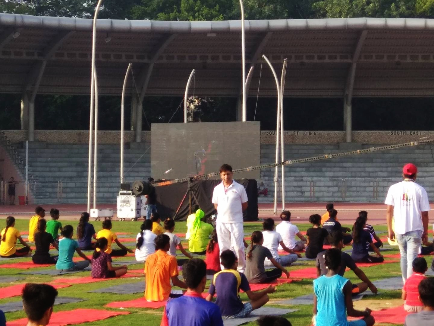 Government Certified Yoga Trainer from AIIMS in Rohini